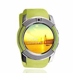 4sshop-นาฬิกาSmart Watch รุ่น V8(สีเขียว) รองรับการใส่ซิม mirco SDมีเมนูภาษาไทย