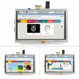 ซื้อ 5 Inch Lcd Display Monitor Suitable For Raspberry Pi Xpt2046 With Touch Screen Intl ออนไลน์
