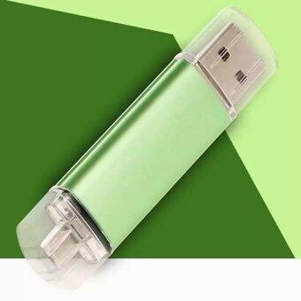 512 กิกะไบต์ภายนอก USB เมมโมรี่สติ๊ก U ดิสก์ไดรฟ์ USB แฟลชไดรฟ์สำหรับโทรศัพท์สมาร์ทโฟน (สีเขียว) -นานาชาติ