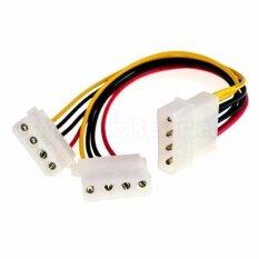 ราคา 5 25 Pc Ide Power Y Adapter Splitter Cable Line Sata Hdd 4 Pin To 2X 4Pin Lead Intl เป็นต้นฉบับ