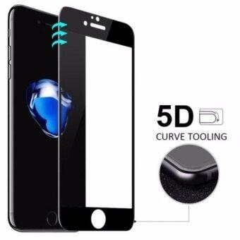 ฟิล์มกระจกเต็มจอ 5D สำหรับ iPhone7 Plus สีดำ