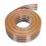 ราคา 5M 1 27Mm 20P Dupont Cable Rainbow Flat Line Support Wire Soldered Intl Unbranded Generic