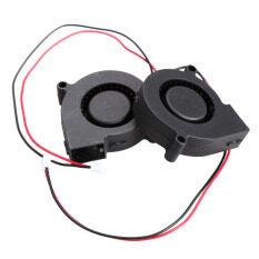 ทบทวน ที่สุด เป่าลมระบายความร้อน Brushless Dc 5Pcs พัดลม 5015S 5V 15 A 50X15Mm สีดำ