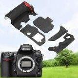 ซื้อ 5Pcs Camera Front Rear Grip Rubber Set New Repair Parts Tape For Nikon D700 Intl ออนไลน์ ถูก