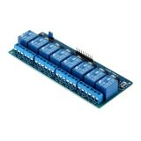 5V Eight 8 Channel Relay Module With Optocoupler For Arduino Pic Avr Dsp Arm ใหม่ล่าสุด