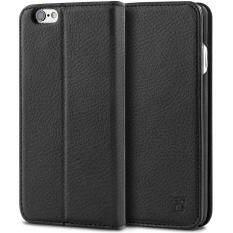 ราคา ราคาถูกที่สุด เคสไอโฟน 6 6S Bez® เคสมือถือ แบบฝาพับ ฝาปิด ตั้งได้ มีช่องใส่บัตร มีช่องใส่ธนบัตร เคสหนัง ซองมือถือ Iphone 6 6S Flip Case Cover Pu1 6G