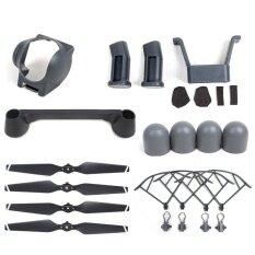 ซื้อ 6 In 1 Dji Mavic Pro Accessories Kit Quick Release Propeller Prop Guards Landing Gear Lens Hood Joystick Protector Silicone Cap Intl ใหม่ล่าสุด