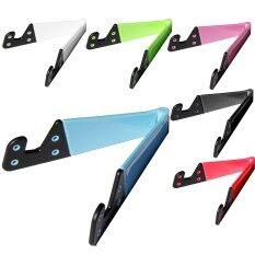 ราคา 6 Pcs Universal Portable Foldable V Shape Cell Phone Tablet Desk Stand Holder Mount For Iphone 5 5S 6S Ipad 4 Mini Samsung Tab Samsung Galaxy S3 S4 ราคาถูกที่สุด
