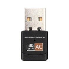 ซื้อ 600 Mbps Dual Band 2 4 กรัม 5 กรัม Hz Wireless Lan Usb Pc Wifi Adapter 802 11Ac ออนไลน์ ถูก