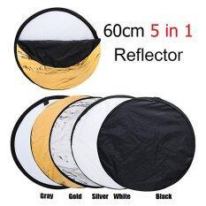 ขาย 60Cm 24 5 In 1 Photography Studio Multi Photo Disc Collapsible Light Reflector Intl ถูก จีน