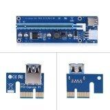 ราคา ราคาถูกที่สุด 60Cm Pci E Express 1X To 16X 6 Pin Extension Cord Graphics Card Adapter Intl