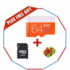 64Gb Class 10 Micro Memory Sd Card With Adaptor Intl เป็นต้นฉบับ