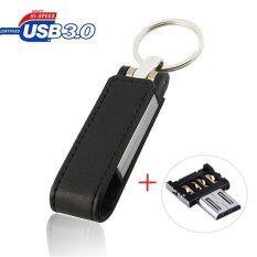 ส่วนลด 64Gb High End Leather Otg Micro Usb 3 Flash Memory Drive Stick Pen Thumb U Disk Black Intl จีน