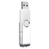 ราคา 64Mb Usb 2 Swivel Flash Memory Stick Pen Drive Storage Thumb White ราคาถูกที่สุด