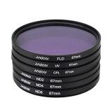 ขาย 67Mm Uv Cpl Fld Nd Nd2 Nd4 Nd8 Photography Filter Kit Set Ultraviolet Circular Polarizing Fluorescent Neutral Density Filter For Nikon Canon Sony Pentax Dslrs