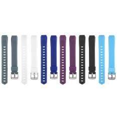 ราคา 6Pcs Colorful Replacement Wristband With Metal Clasps For Fitbit Alta Thailand