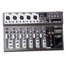 สเตอริโอมิกเซอร์7ช่อง DIGITAL ECHO Effect รุ่น Comson ff7USB MP3