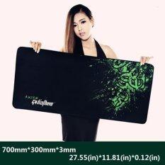 ซื้อ 700 300 3Mm Rubber Razer Goliathus Mantis Speed Game Mouse Pad Mat Large Xl Size Intl ถูก