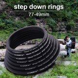 ขาย 7X Metal Step Down Lens Filter Ring Adapter Set 77 72 67 62 58 55 52 49 Mm Xcsource ผู้ค้าส่ง