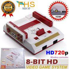 8-bit HD CLASSIC EDITION  Game console  two wireless controllers with 88IN1 games with HD 720P