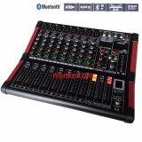 ซื้อ มิกเซอร์8ช่อง Bluetooth Usb Mp3 16Dsp Professional Mixer Mic Line Proeuro Tech Mini 8Dsp Nke Audio