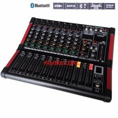 มิกเซอร์8ช่อง BLUETOOTH USB MP3 16DSP Professional Mixer MIC-LINE Proeuro Tech MINI-8DSP