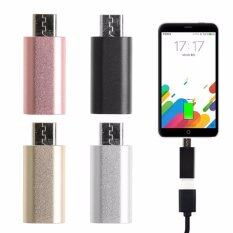 8 Pin Lightning Female To Micro Usb Male Adapter Converter For Android Phone(Rose Gold Intl ใหม่ล่าสุด