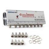 ทบทวน 8 Port Cable Tv Digital Signal Amplifier Splitter Booster Intl
