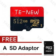 ซื้อ 80Mb S Class 10 Micro Sd 64G 128Gb 256Gb 512Gb Memory Card Microsd With Sd Adapter Intl