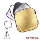 Selens 80X80Cm 5 In 1 Light Mulit Collapsible Portable Photo Reflector เป็นต้นฉบับ