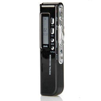 8จิกะไบต์ 650ชั่วโมงเสียงดิจิตอลหน้าจอ Lcd ผ่านเทปบันทึกเสียง MP3 เล่น