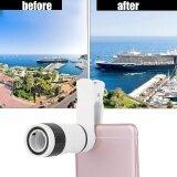 ขาย 8X Clip On Long Focus Camera Monocular Lens For Universal Mobile Phone Intl Thailand