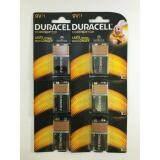 ส่วนลด ดูราเซลล์ อัลคาไลน์ ขนาด 9 โวลต์ แพ็ค 1 ก้อน จำนวน 6 แพ็ค Duracell ใน กรุงเทพมหานคร