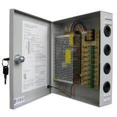 ซื้อ ตู้จ่ายไฟ 9 Ch 12V 15A สำหรับกล้องวงจรปิด 8 จุด ไม่ต้องใช้ อแดปเตอร์ Switching Power Supply Grey Unbranded Generic ถูก