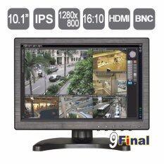 "9FINAL 10.1"" IPS LCD Monitor 1280*800 (VGA+AV+BNC+HDMI) 16:10 Wide Screen HD Multifunction LCD Monitor Support FullHD 1080P"
