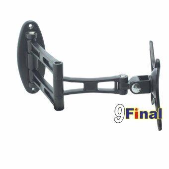 9FINAL ขาแขวนจอมอนิเตอร์ ขาแขวนทีวี Aluminium Alloy แบบติดผนัง Model S13 รองรับจอ 10\-27\ LCD LED armLCD Wall Mount