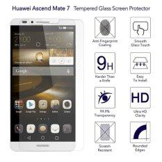 ซื้อ 9H Hd Clear Tempered Glass Screen Protector Film For Huawei Ascend Mate 7 Intl Unbranded Generic ออนไลน์