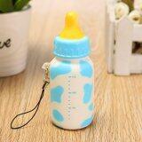 ซื้อ 9Pcs Jumbo Squishy Milk Bottle Slow Rising Cellphone Straps Blue Intl ออนไลน์ จีน