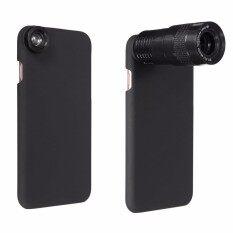 ซื้อ 9X Telephoto Wide Angle Macro Fisheye Kit Camera Lens Back Case For Iphone 7 Intl Unbranded Generic