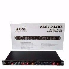 A-ONE สเตอริโอครอสโอเวอร์ 2/3/4 ทาง เครื่องแยกสัญญาณเสียง รุ่น 234XL