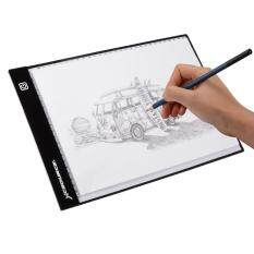 A4 Led Art Drawing Board Artist Slim Stencil Pad Tracing Tattoo Light Box.