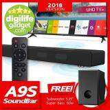 ขาย A9S Sound Bar 60W 60W 2 1 Channel Bluetooth By Jy Audio Free Subwoofer S5 By Digilifegadget ราคาถูกที่สุด