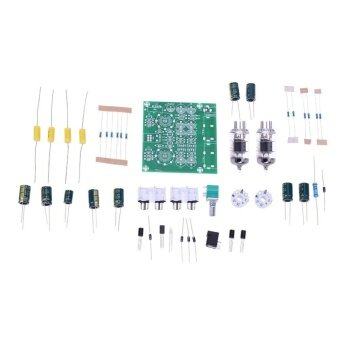 AC 12 โวลต์ 6J1 วาล์ว Pre-Amp หลอด Pre-Amplifier BOARD หูฟังบัฟเฟอร์ DIY ชุด