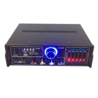 เครื่องขยายเสียง AC/DC เล่นUSB MP3 SDCARD FM รุ่น AV-0096