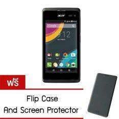 ส่วนลด Acer Liquid Z220 Qualcomm Dca7 4 1G 8G Black Free Film And Flip Case Acer Thailand