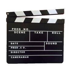 Achute ป้าย Slate Film สำหรับถ่ายหนัง.
