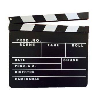 achute ป้าย Slate film สำหรับถ่ายหนัง