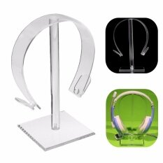 ขาย Acrylic Gaming Headphone Stand Holder Earphone Hanger Headset Desk Display Rack Intl ถูก