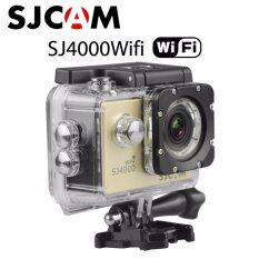 Action cam ,Car camera กล้องแอ็คชั่นแคม กล้องติดรถยนต์ กล้องติดหมวกกันน็อค กล้องกันน้ำ SJCAM SJ4000 Wifi