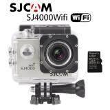 ขาย ซื้อ Action Cam Car Camera กล้องแอ็คชั่นแคม กล้องติดรถยนต์ กล้องติดหมวกกันน็อค กล้องถ่ายใต้น้ำ Sj4000 Wifi Silver Add 16G Tf Card กรุงเทพมหานคร